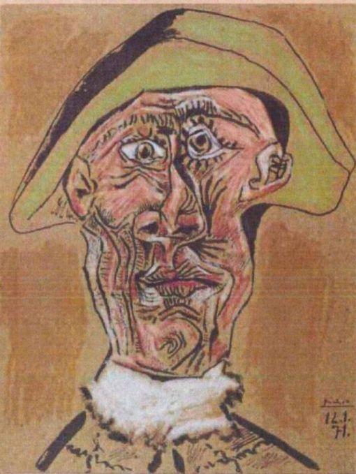 Pablo Picasso - Cap de Arlequin