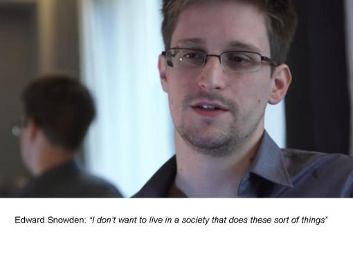 ... si nici Edward Snowden nu alearga prin lume de capul lui ...