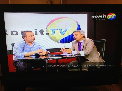 Dan Diaconescu in Direct la ROMIT TV