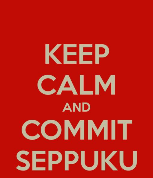 Pana la urma, tot la seppuku mi-a placut mai mult ... :-)!