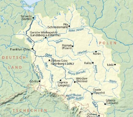 Granita stabilita pe raul Oder intre URSS si SUA, dupa hotararea comuna care a permis reunificarea Germaniei, a fost trecuta de mult ...