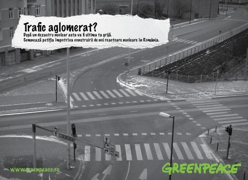 Campania GREENPEACE impotriva energiei nucleare.