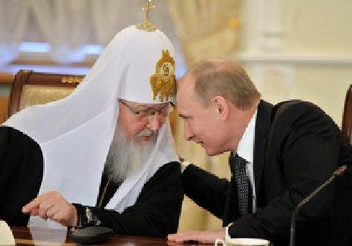 putin si patriarhul rus