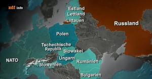 Extinderea NATO e percepută de ruși ca o amenințare directă.