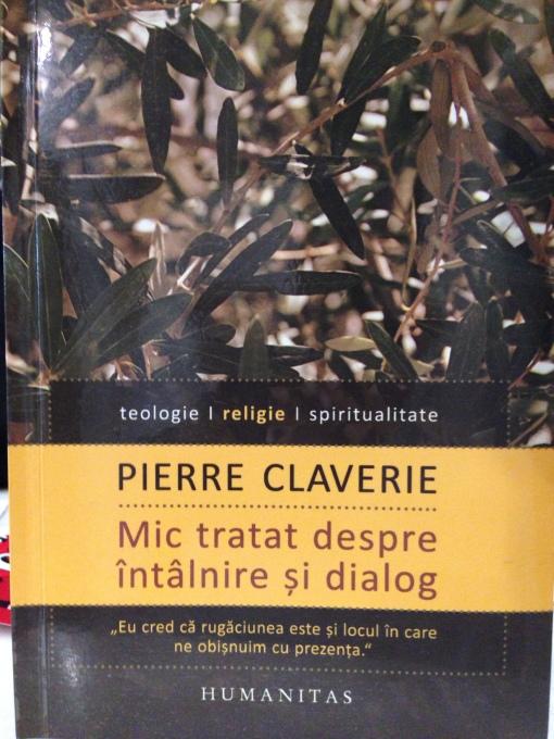 Pierre Claverie, Editura Humanitas, 2015