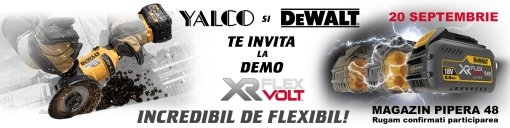 Invitatie demo Dewalt