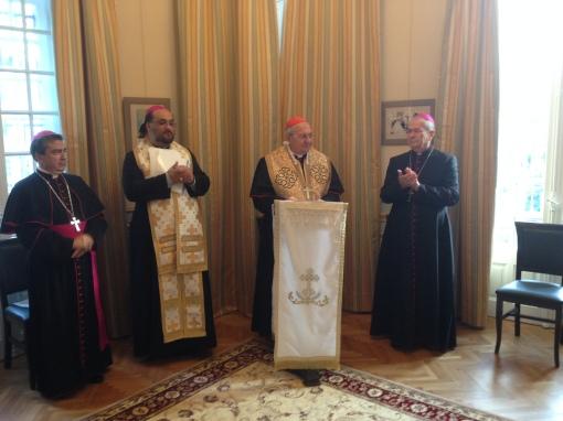 Sfintirea noului Sediu al Episcopiei Bisericii Romane Unite din Bucuresti