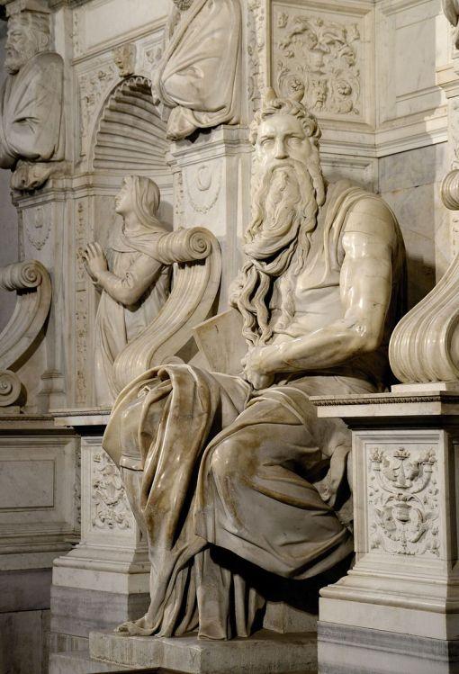Michelangelo_Moise si Tablele Legii