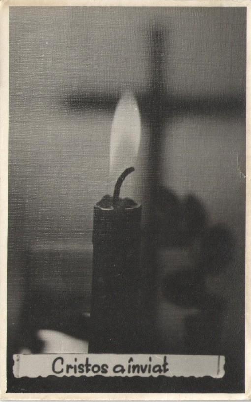 Felicitare de Sfintele Pasti (1980)