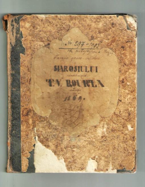 Jurnalul lui Theodor Valerian Bourza