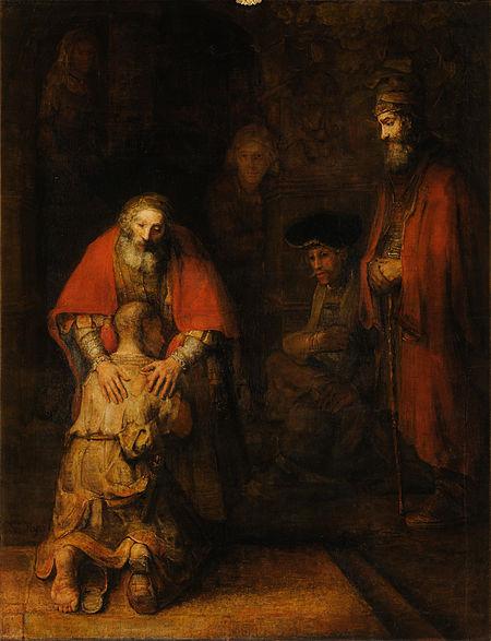 Intoarcerea Fiului Risipitor Rembrandt