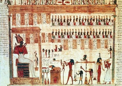 Scena din cartea mortilor
