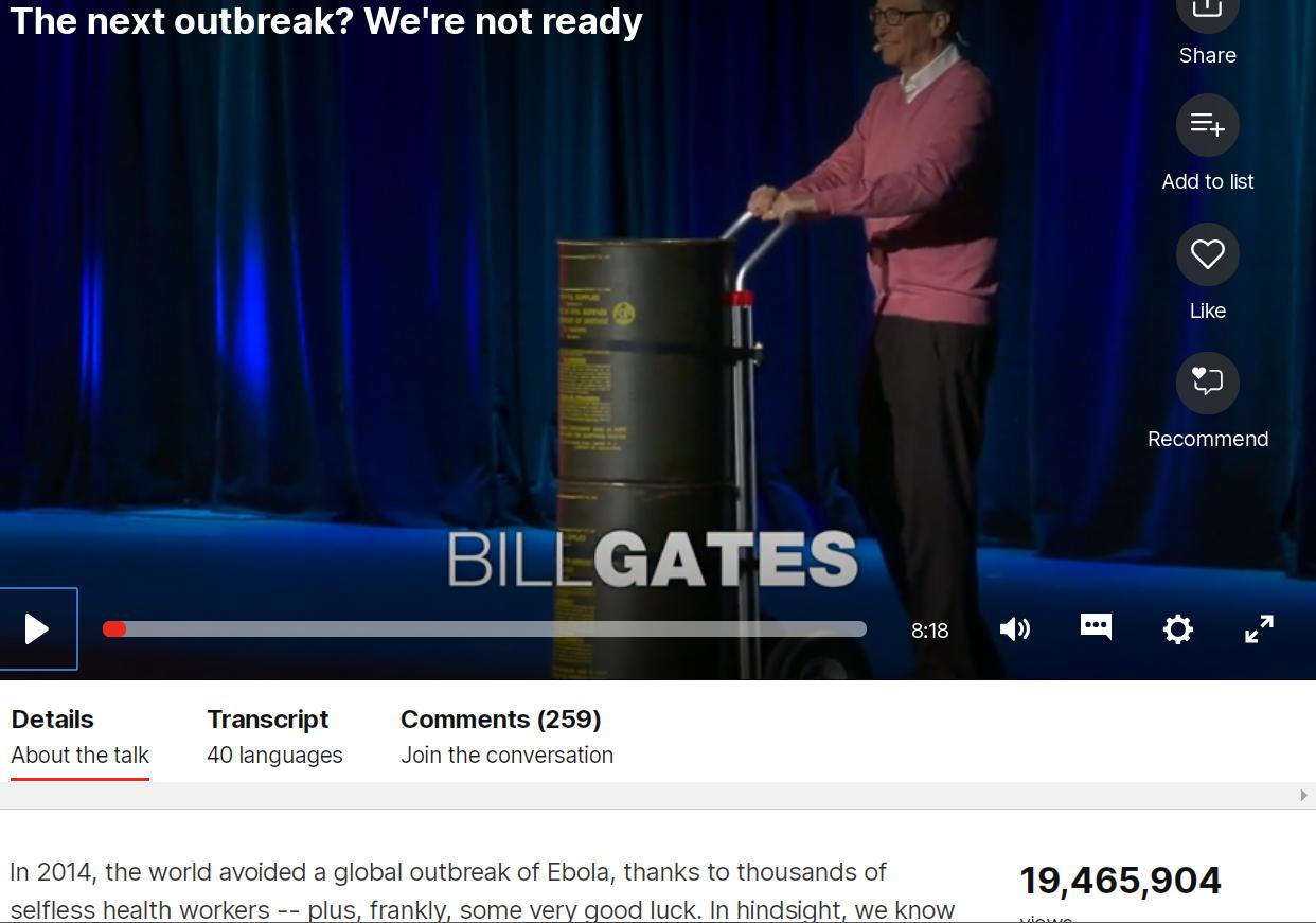 ted talks bill gates ebola